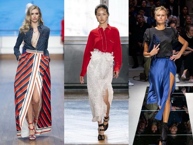 Не бойтесь экспериментировать: 45 стильных способов носить длинную юбку в 2020 году 1