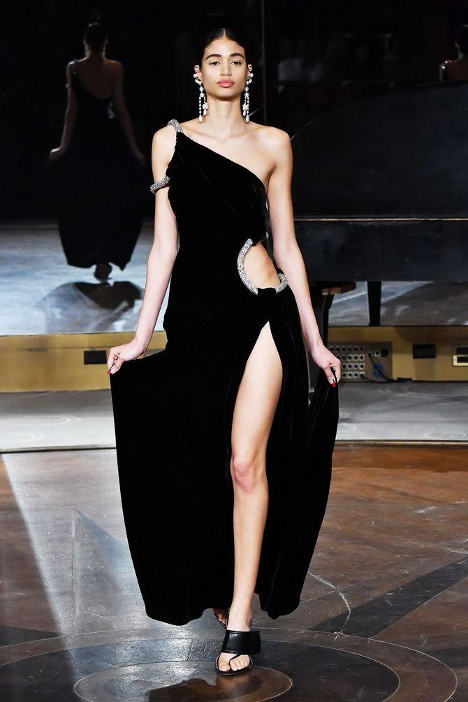 платье черных