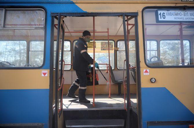 Білорусь дезінфекція транспорту