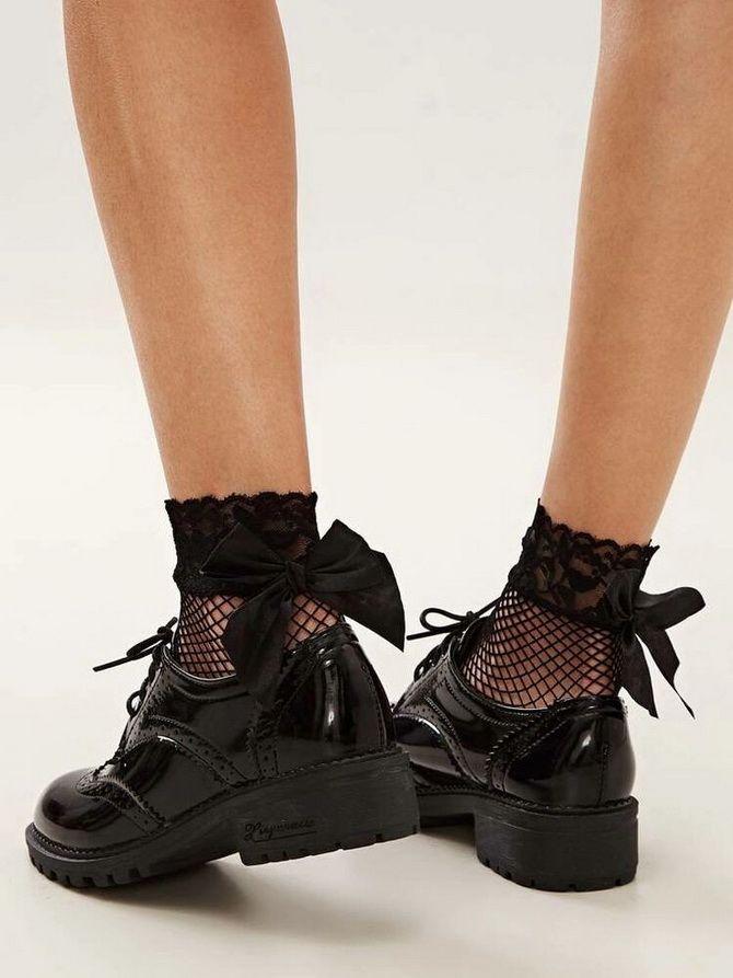 Модные туфли на платформе