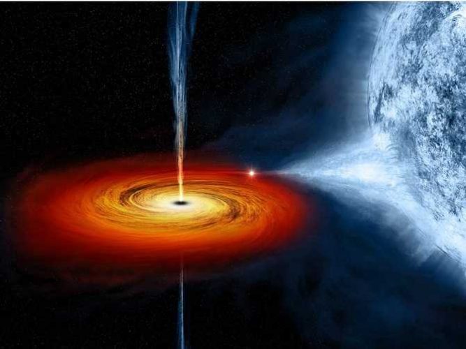 чорна дірка