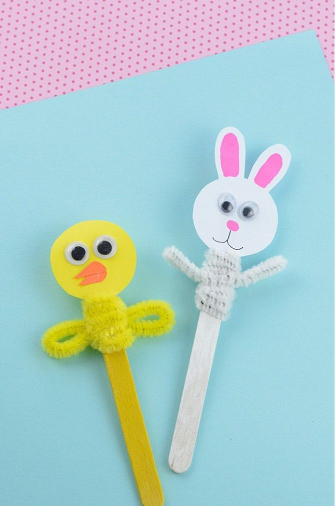 Куклы на палочке
