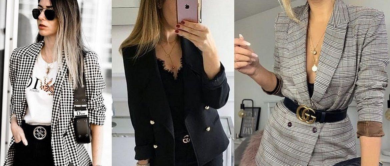 С чем носить пиджак: самые модные идеи 2021 года