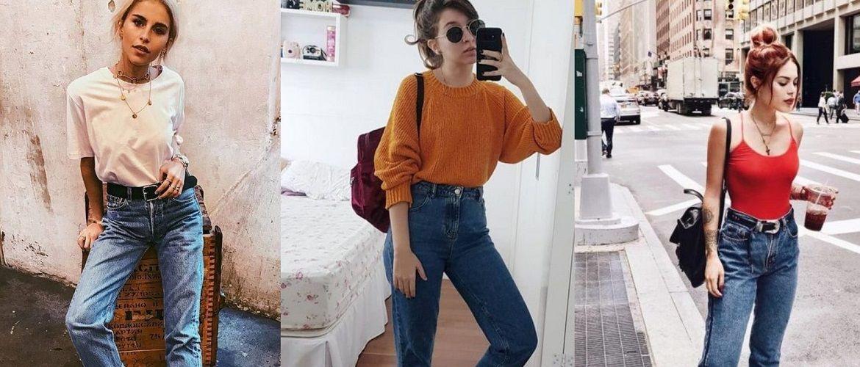 Да здравствуют 90-е или как носить джинсы мом в этом сезоне?