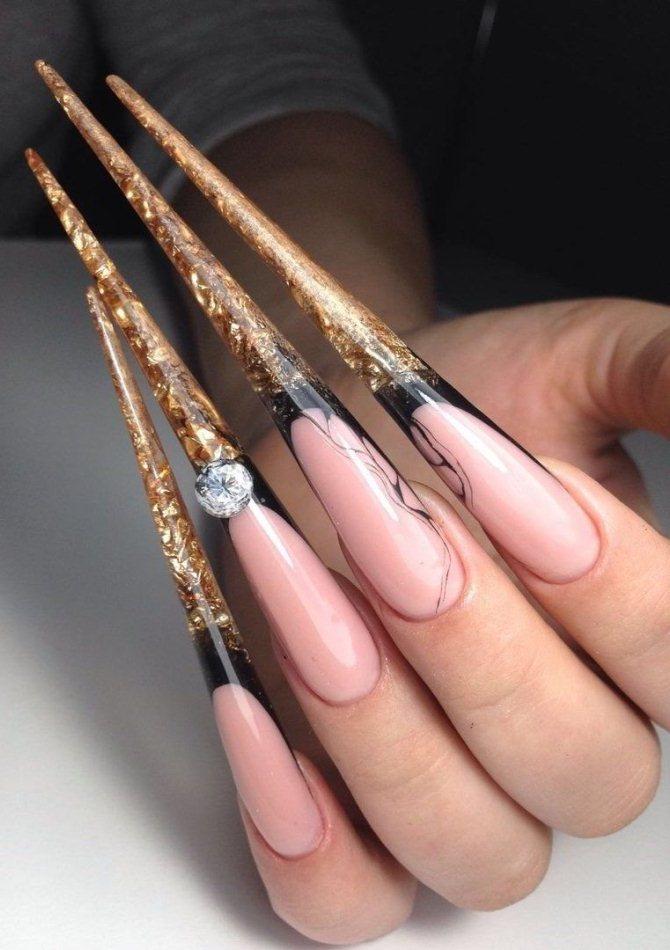 Ногти-стилеты