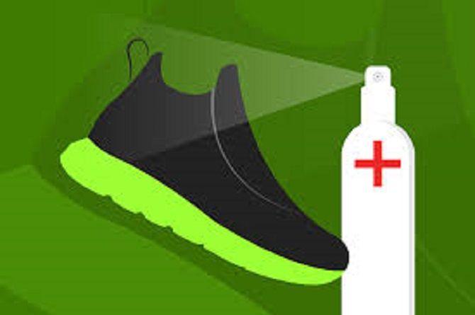 Дезінфекція взуття
