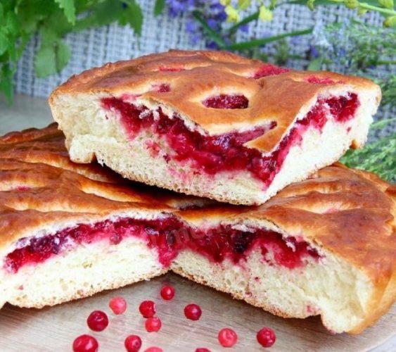 Пиріг в духовці без дріжджів