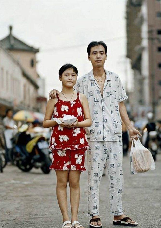 китайцы в пижаме