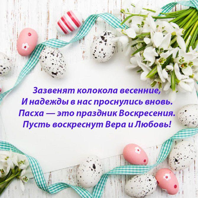 Привітання Великдень листівки
