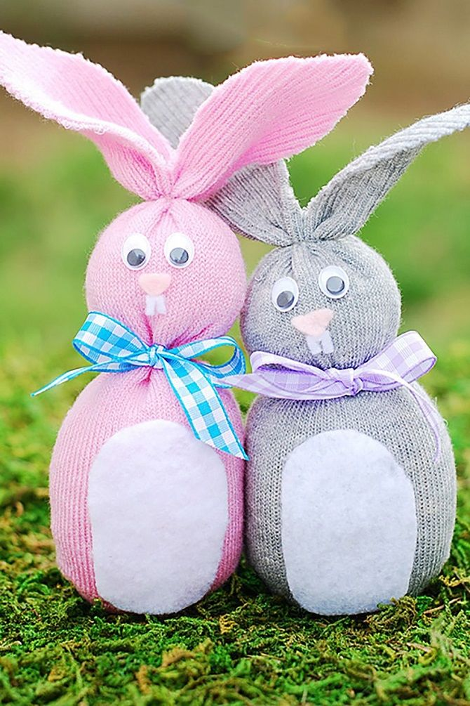 Кролик-носок