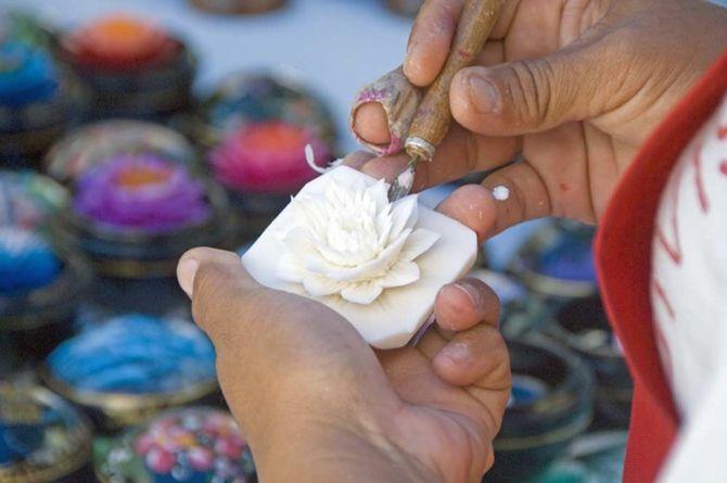 Создание скульптур из мыла