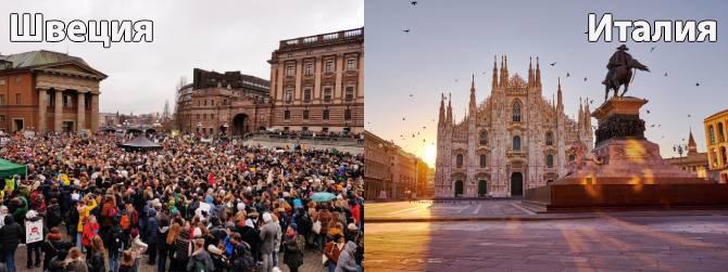 Швеция и Италия