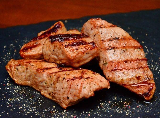 м'ясо з пивним маринадом