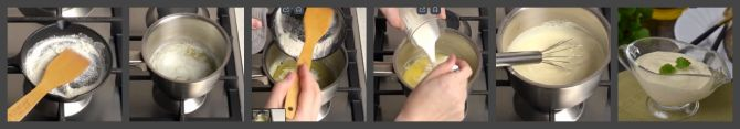 Как приготовить белый соус к рыбе из сливок