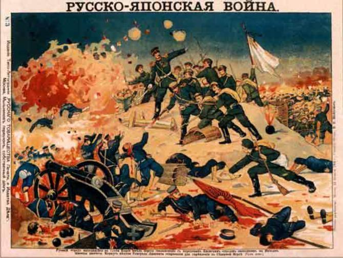 війна росії  японії