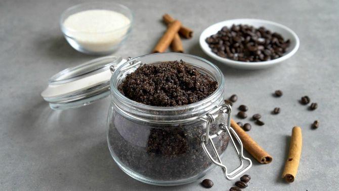 Кофейно-сахарный скраб для тела