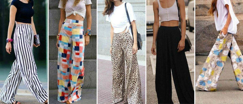 З чим носити у 2020 широкі штани: палаццо та кюлоти