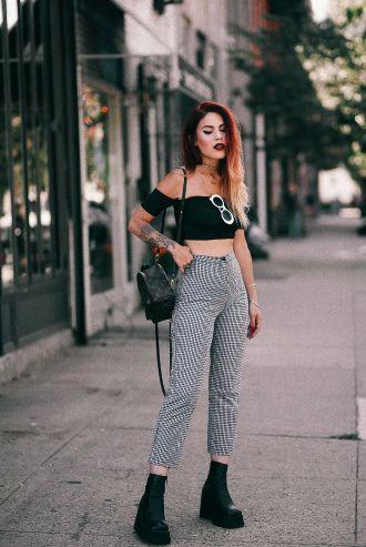 Клетчатый стиль, или С чем носить брюки в клетку в 2021 1