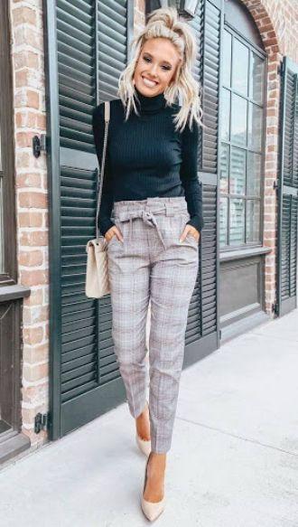 женские брюки в клетку больших размеров