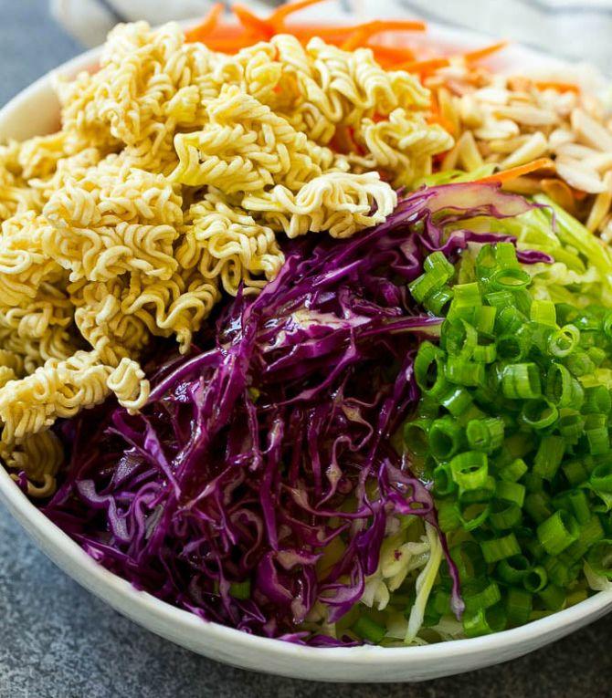рецепт китайского салата