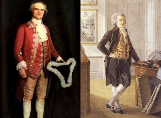 кюлоты 18 век