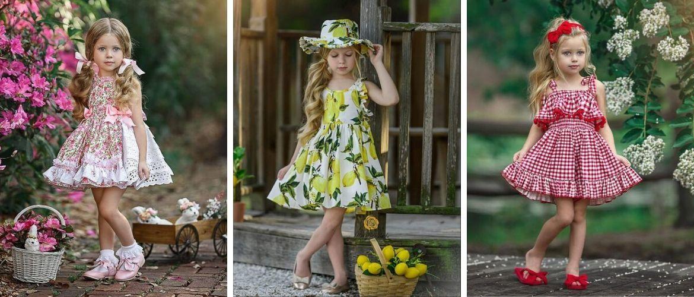 Дитячі літні сукні для маленьких модниць: принти, кольори, фасони популярні у 2020