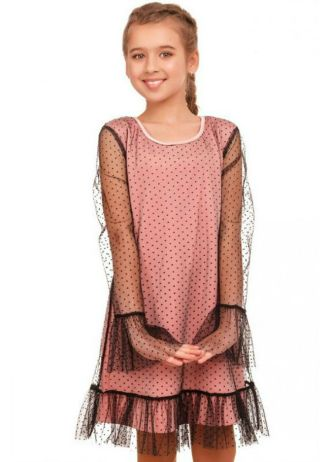 Детские летние платья для маленьких модниц: принты, цвета, фасоны популярные в 2021 3