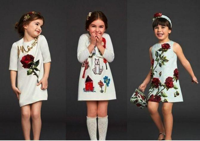 мода детские одежды