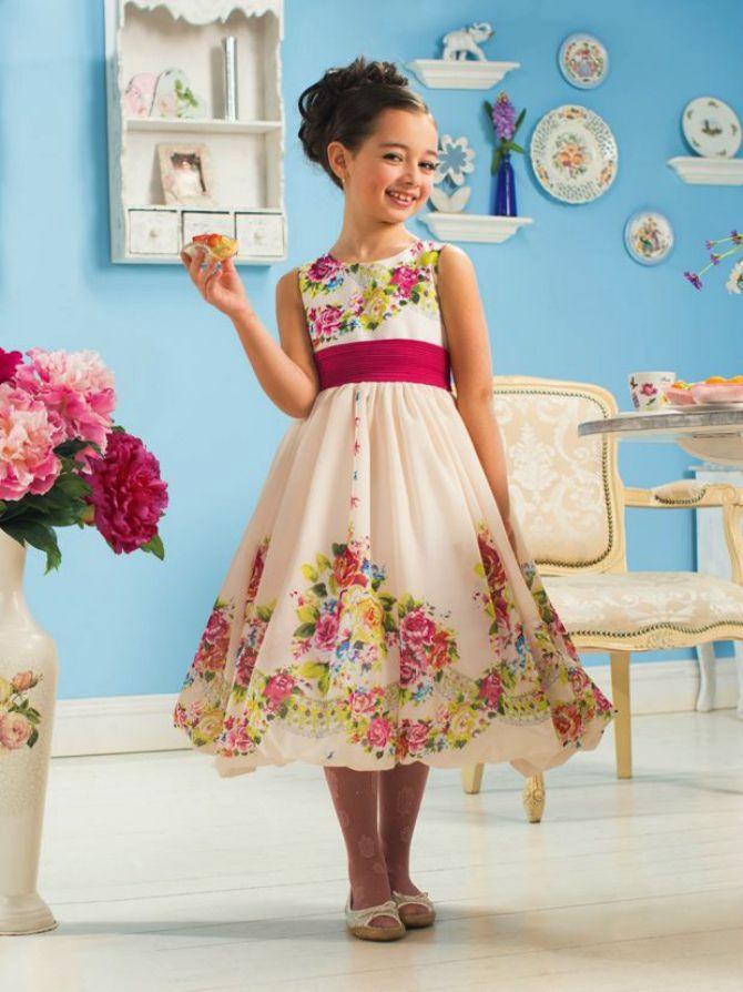 сукні для дівчаток  весна