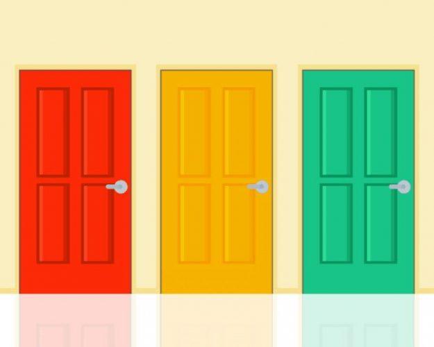Головоломка « Три двери»