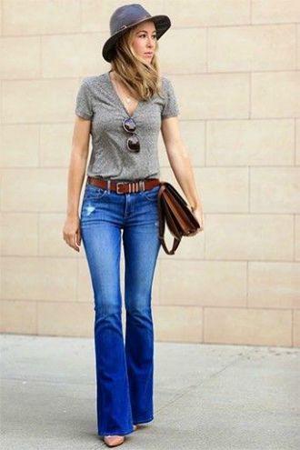 Як виглядати приголомшливо у джинсах кльош у 2020 4