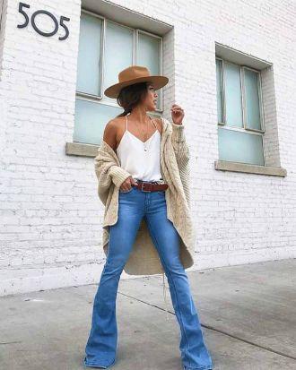 Як виглядати приголомшливо у джинсах кльош у 2020 8