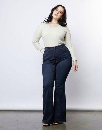 Як виглядати приголомшливо у джинсах кльош у 2020 9