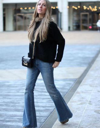 Як виглядати приголомшливо у джинсах кльош у 2020 10