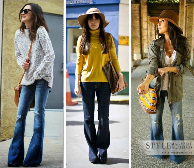 джинсовый лук