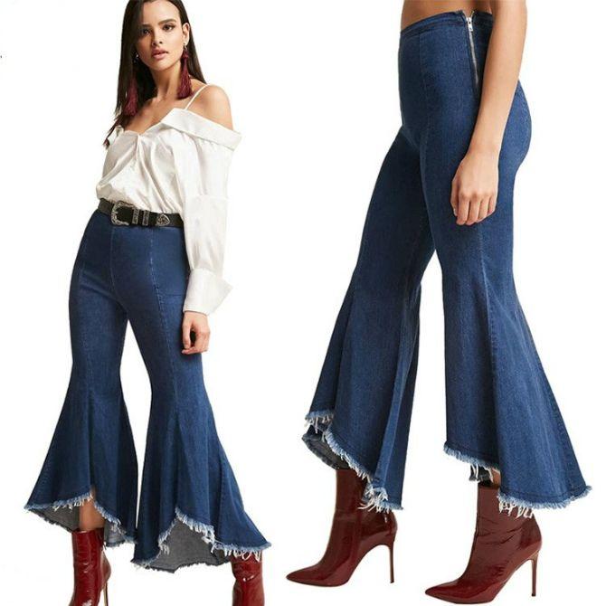 джинси кльош 2020