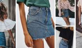 How to wear a denim skirt: the most relevant trends of 2020