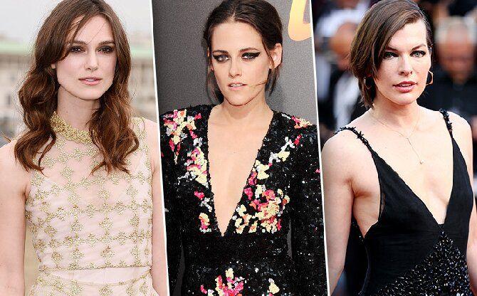 Голливудские звезды с маленькой грудью