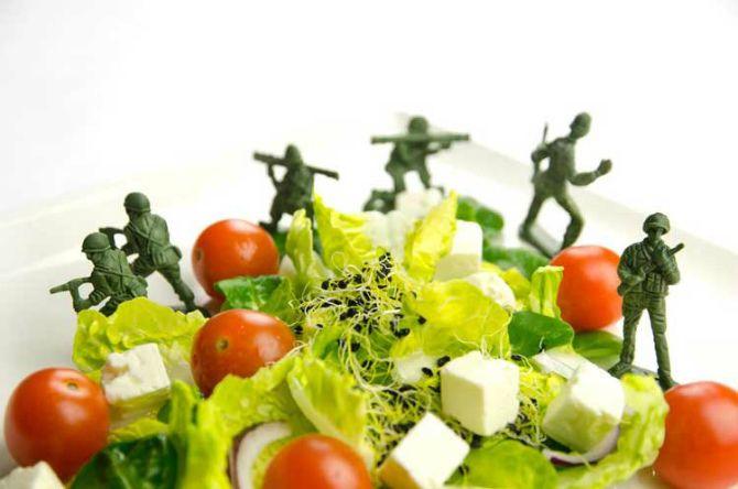 особливість військової дієти