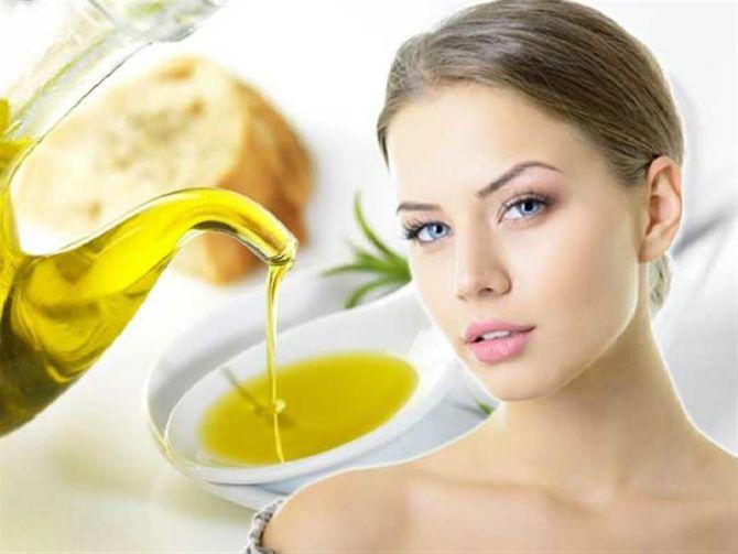 Маска для комбінованої шкіри з оливковою олією