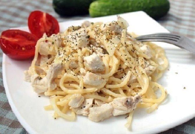 Рецепт домашней карбонары с курицей