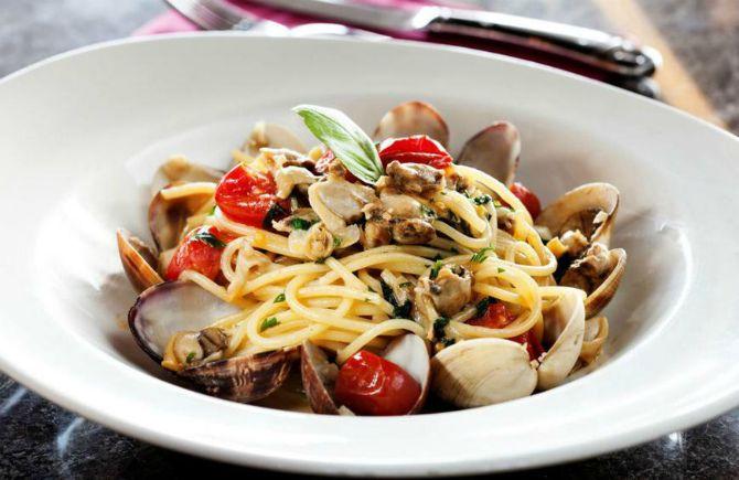 Італійська паста з морепродуктами