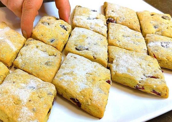 Печиво на сметані за 10 хвилин