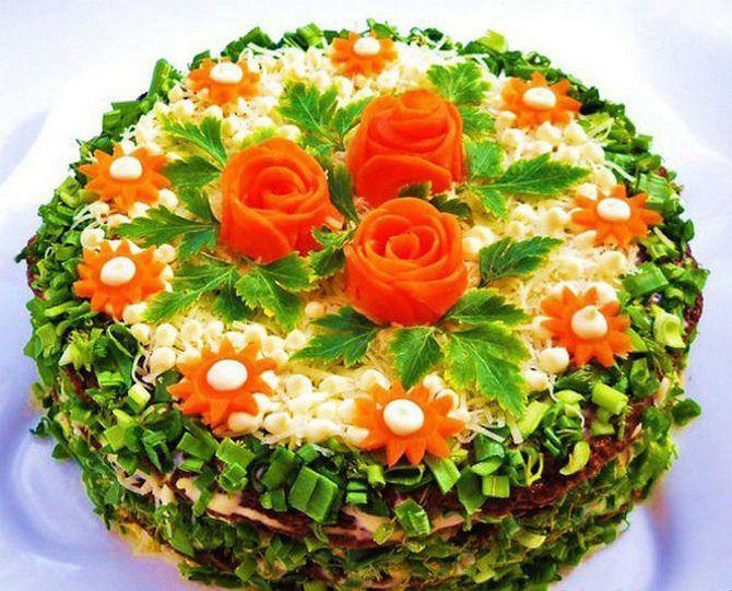 Печінковий торт з курячої печінки рецепт з фото