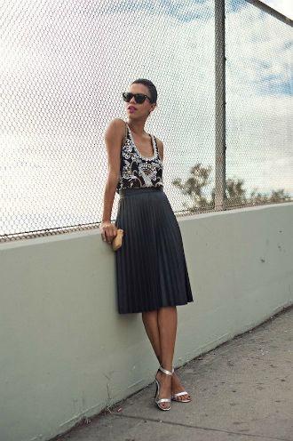 Плісирована спідниця: з чим носити та як поєднувати – стиль 2021 4