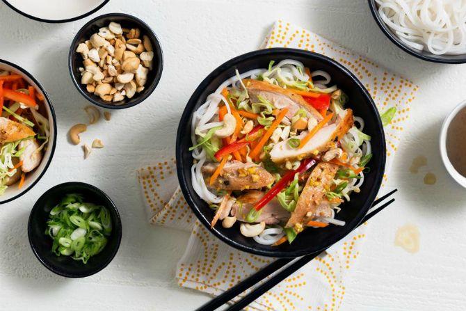 як приготувати китайські салати