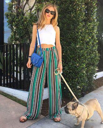 З чим носити у 2020 широкі штани: палаццо та кюлоти 5