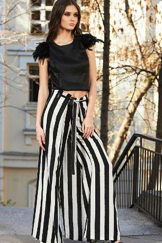 З чим носити у 2020 широкі штани: палаццо та кюлоти 8