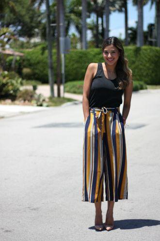 З чим носити у 2020 широкі штани: палаццо та кюлоти 14