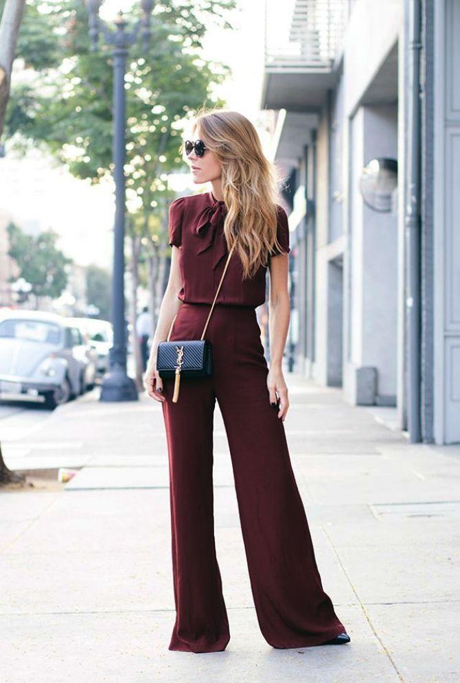 широкие брюки фото